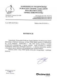 Samodzielny Wojewódzki Publiczny Zespół Zakladów Psychiatrycznej Opieki Zdrowotnej w Radomiu