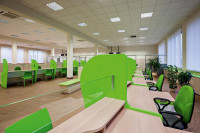 Tobo furniture in the Municipal Family Assistance Center in Bialystok