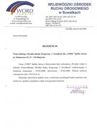 Wojewódzki Ośrodek Ruchu Drogowego w Suwałkach