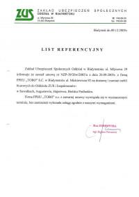 Zakład Ubezpieczeń Społecznych Oddział w Białymstoku
