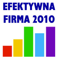 Wyróżnienie Efektywna Firma 2010