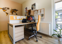 TOBO Meble biurowe: biurka na stelażach metalowych, przegrody biurkowe, kontenery, szafy biurowe