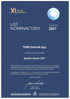 Tobo nominowana do nowego programu medialnego Symbol 2021